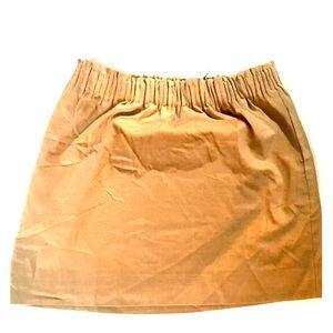 J Crew Wool Sidewalk stretch Mini Skirt w/ Pockets